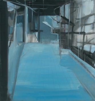 Ohne Titel, 2000, Öl auf Leinwand, 74 x 79 cm