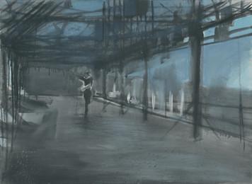 Ohne Titel, 2000, Öl auf Leinwand, 85 x 65 cm
