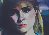 """Jungfrau in Nöten"", 2018, Öl auf Leinwand, 70 x 50 cm"