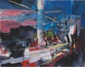 Ohne Titel, 2001, Öl auf Leinwand, 130 × 100 cm