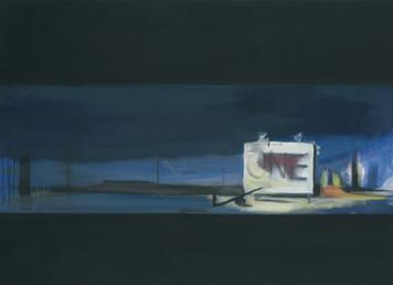 Ohne Titel, 2001, Öl auf Leinwand, 100 x 80 cm