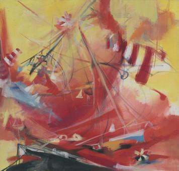 Ohne Titel, 2005, Öl auf Leinwand, 70 x 67 cm