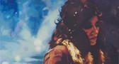 """""""Gypsy"""", 2018, Öl auf Leinwand, 130 x 70 cm"""