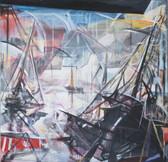 Ohne Titel, 2004, Öl auf Leinwand, 200 × 200 cm