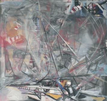 Ohne Titel, 2004 Öl auf Leinwand, 170 x 180 cm