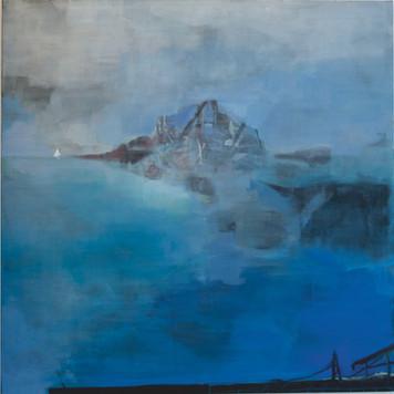 Ohne Titel, 2002, Öl auf Leinwand, 170 x 170 cm