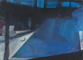 Ohne Titel, 2001, Öl auf Leinwand, 75 x 60 cm