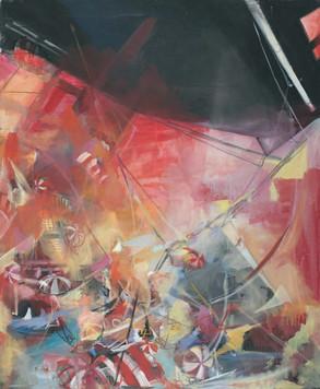 Ohne Titel, 2005, Öl auf Leinwand, 170 x 200 cm