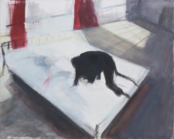 Ohne Titel, 2001, Öl auf Leinwand, 150 × 120 cm