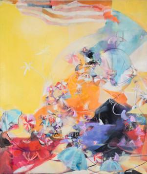 Ohne Titel, 2009, Öl auf Leinwand, 150 x 170 cm