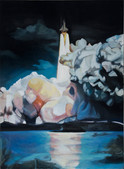 Ohne Titel, 2012, Öl auf Leinwand, 120 × 150 cm