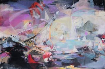 Ohne Titel, 2011, Öl auf Leinwand, 120 x 80 cm