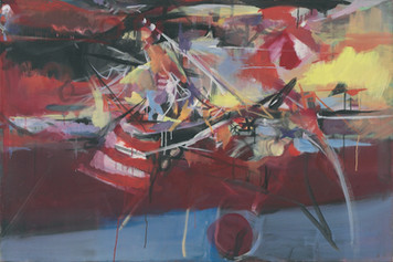 Ohne Titel, 2005, Öl auf Leinwand, 120 x 80 cm