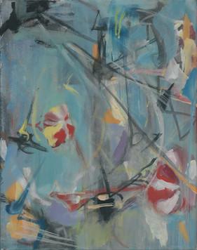 Ohne Titel, 2005, Öl auf Leinwand, 34 × 43 cm