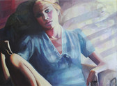 """Afternoon"", 2014, Öl auf Leinwand, 130 x 100 cm"