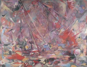 Ohne Titel, 2005, Öl auf Leinwand, 200 x 150 cm