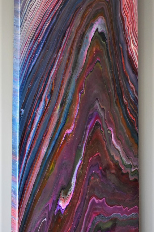 Epiphany - Abstract Resin Artwork front view