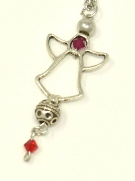 Swarovski Crystal Angel pendant necklace