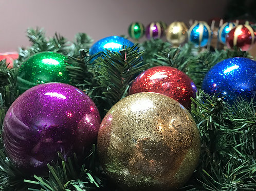 Christmas Ornaments  - Sparklers- Set of 6
