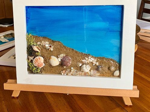 Seaside - Resin Art front view