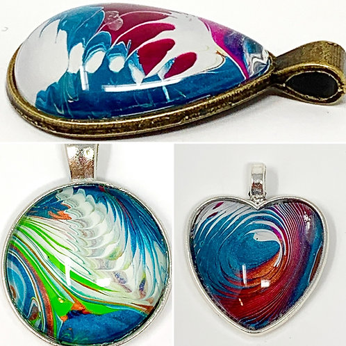 Abstract Pendants - Set View