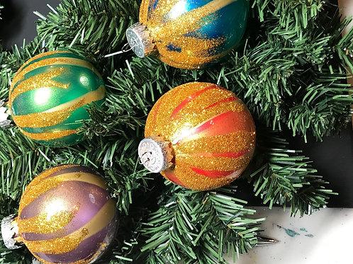 Tree Ornaments - Mixed Glitter