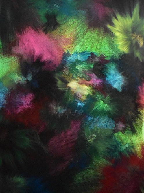 Abstract Painting-Prism Explosion-18x24 inch