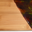 Vibrant Flames - Bamboo Charcuterie Board - front view
