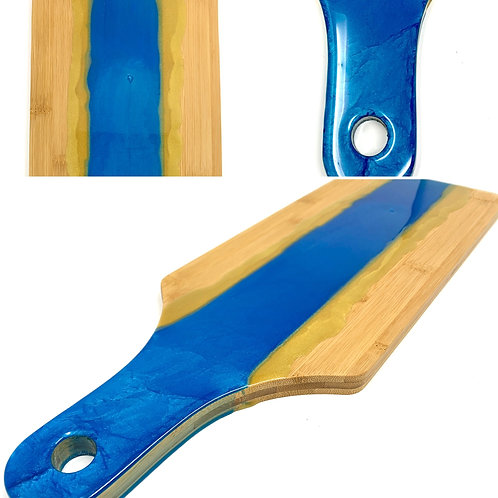 Charcuterie Board - Paddle Board style front view