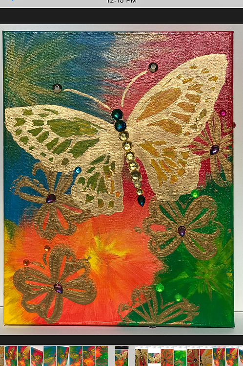 Vibrant Essence - Acrylic Painting