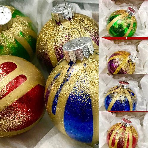 christmas Tree Ornamrnts - Set of 4