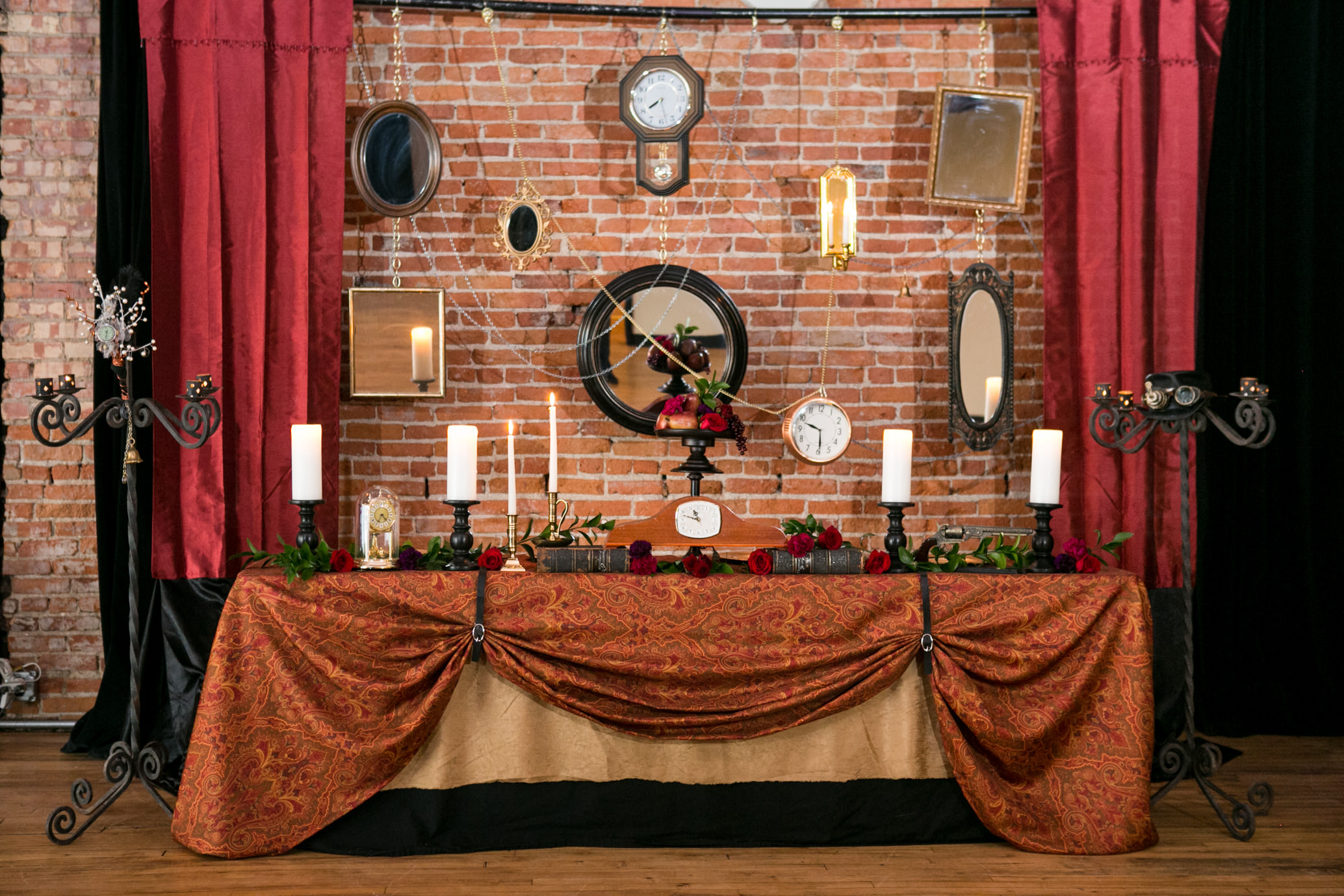Steampunk Head Table