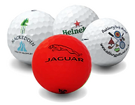 bolas de golf con logo material de calidad