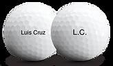 bolas golf logo material