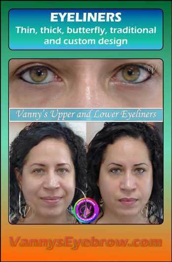 Permanent Makeup Eyeliner Design