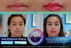 Lips Liners and Shading Services
