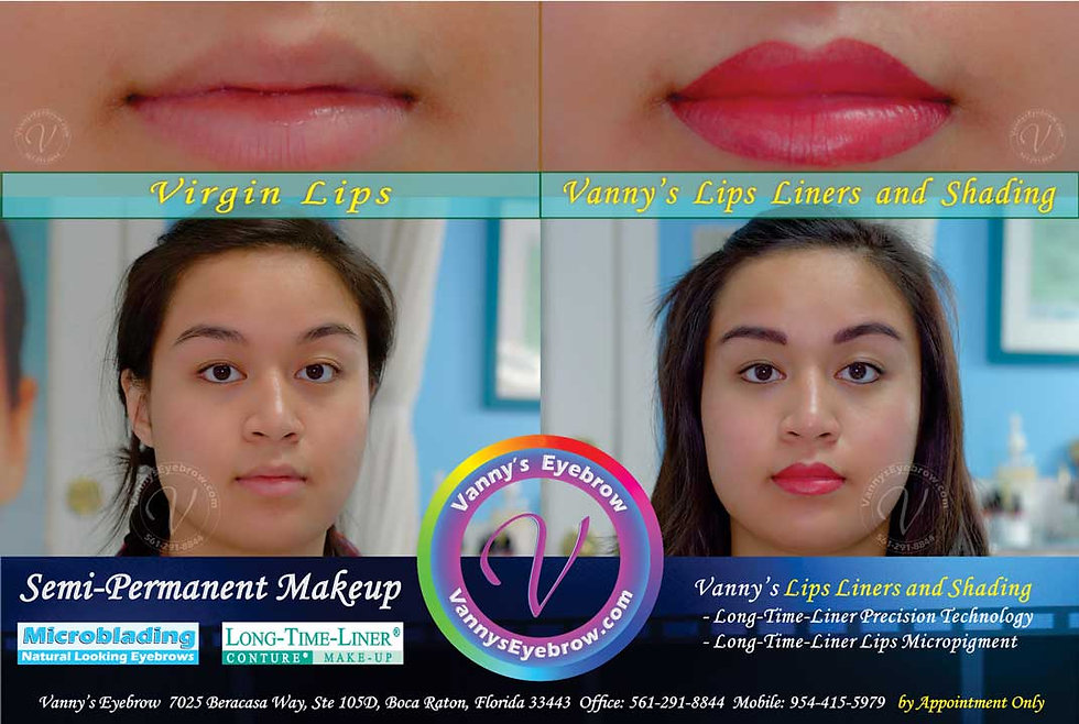 Permanent Lips Coloring Makeup