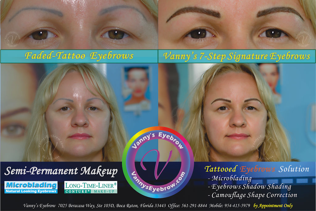 Eyebrow Permanent Makeup Tattoo