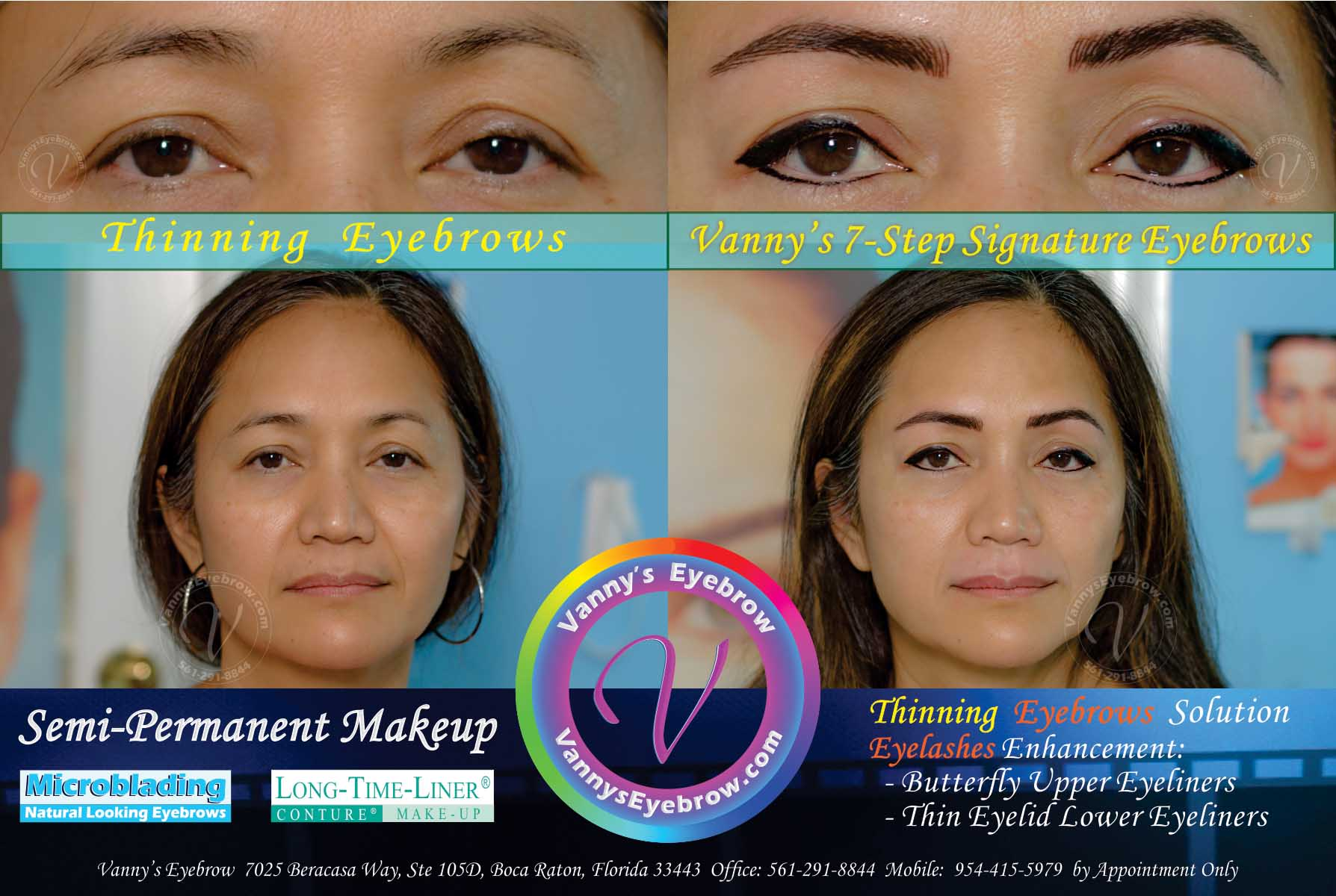 Mild Thinning Eyebrows Solution