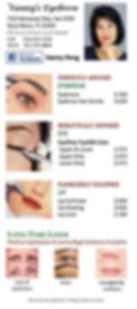 Permanent Makeup Price