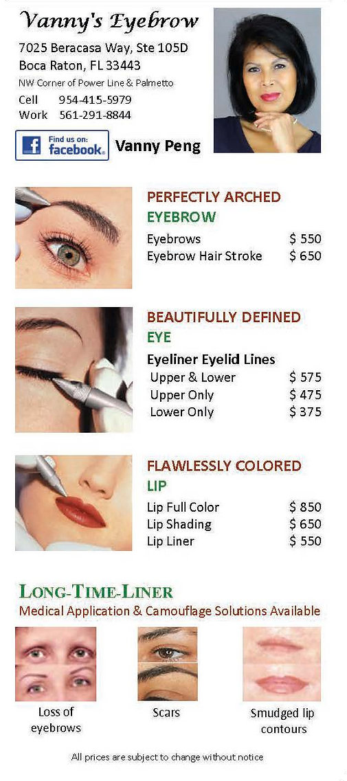Permanent Makeup Price