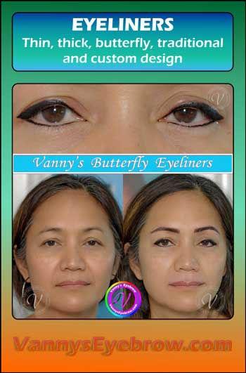 Eyeliner Corrective Permanent Makeup Result