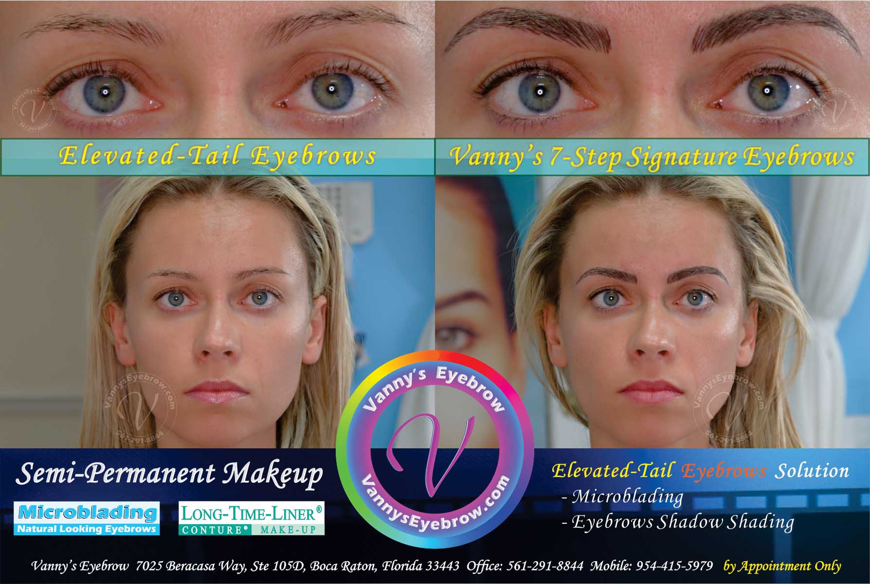 Brow Permanent Makeup Irregular Brow