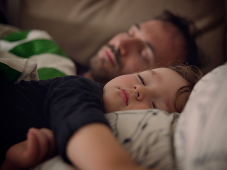 How can I help my child sleep?