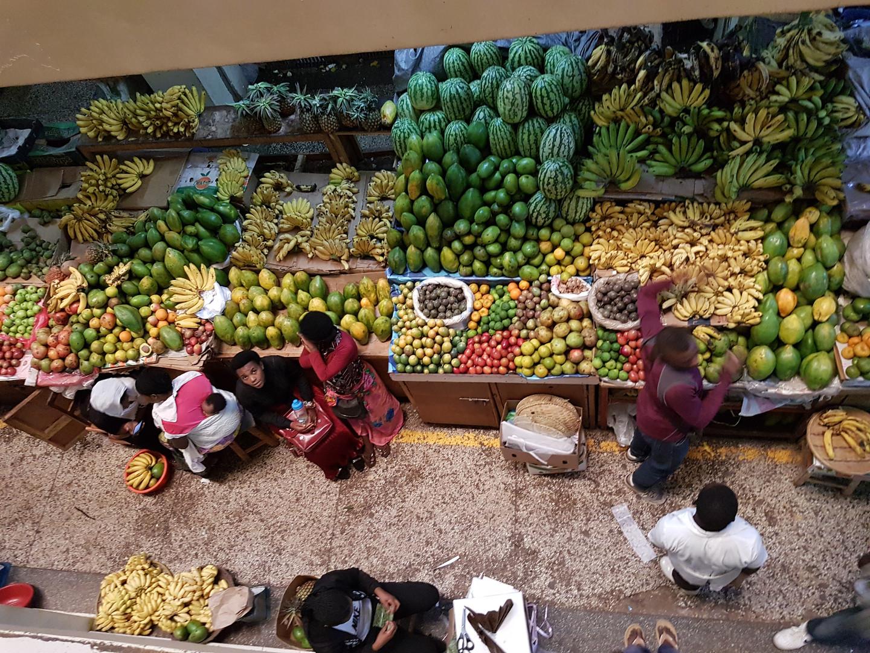 Markt in Mumuji