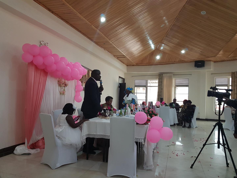 Taufe in Muganga