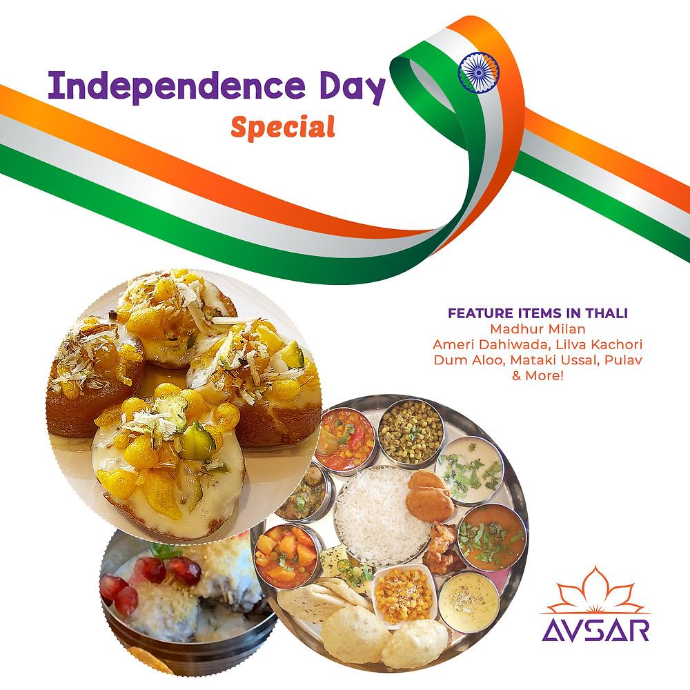 Avsar Gujarati Thali