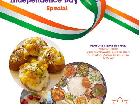 Independence Day Weekend Menu