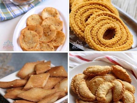Gujarati Snacks for Diwali
