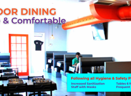 Indoor Dining Resumes - August 1